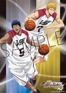 劇場版 黒子のバスケ LAST GAME 描き下ろしA3クリアポスター付前売券 B:青峰・黄瀬