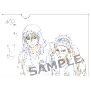 プロダクション I.G 原画クリアファイル「黒子のバスケ」 第6弾 E:黄瀬・笠松