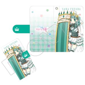 マギアレコード 魔法少女まどか☆マギカ外伝 手帳型スマートフォンケース 二葉さな