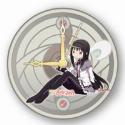 魔法少女まどか☆マギカ 壁掛け時計 ほむら