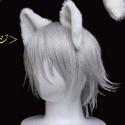 妖狐×僕SS(アニメ版) コスプレアクセサリー/御狐神双熾の狐耳