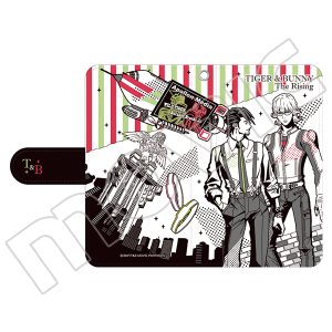 劇場版 TIGER & BUNNY -The Rising- 手帳型スマートフォンケース
