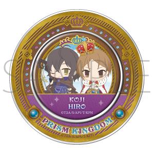【AGF2017】KING OF PRISM プリズムキングダム マグネット付き缶入りキャンディ A.コウジ&ヒロ