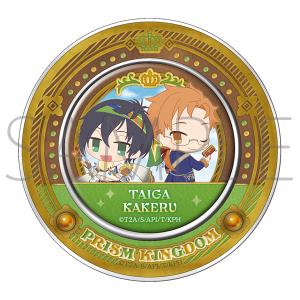 【AGF2017】KING OF PRISM プリズムキングダム マグネット付き缶入りキャンディ E.タイガ&カケル