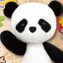 くまめいと ぬいぐるみマスコット パンダ
