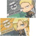 進撃の巨人 ステッカーセット/ライナー&アニ