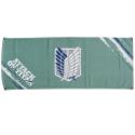 進撃の巨人 フェイスタオル 調査兵団紋章(緑)