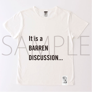 進撃の巨人展 進撃の巨人メッセージTシャツ No.1 不毛(S)