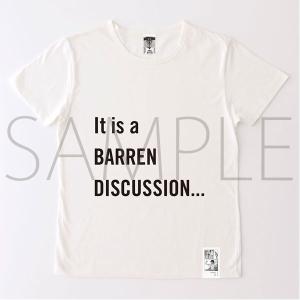 進撃の巨人展 進撃の巨人メッセージTシャツ No.1 不毛(L)