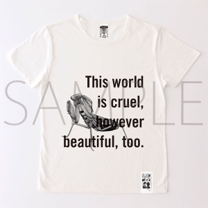 進撃の巨人展 進撃の巨人メッセージTシャツ No.4 世界(S)