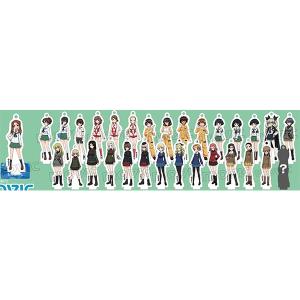 『ガールズ&パンツァー 劇場版』 スタンド付アクリルキーホルダーコレクション/B