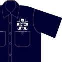 GIRLS und PANZER あんこうチームワークシャツ  M