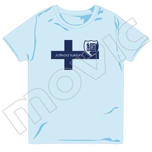 『ガールズ&パンツァー 劇場版』 Tシャツ(継続高校 L)