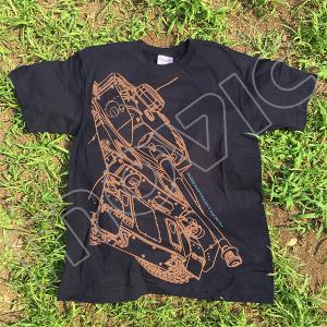 『ガールズ&パンツァー 劇場版』 Tシャツ 大洗 IV号 XL