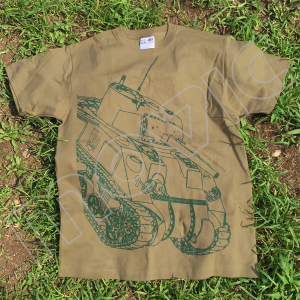 『ガールズ&パンツァー 劇場版』 Tシャツ サンダース シャーマン XL