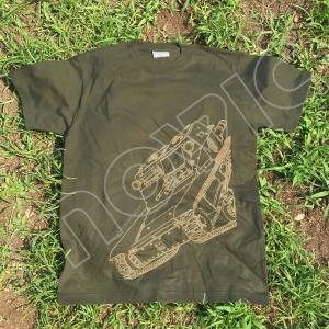 ガールズ&パンツァー最終章 Tシャツ アンツィオ CV33 L 【あんこう屋(ムービック通販)限定商品】