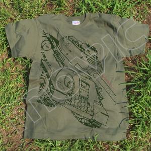 『ガールズ&パンツァー 劇場版』 Tシャツ プラウダ T-34/85 L