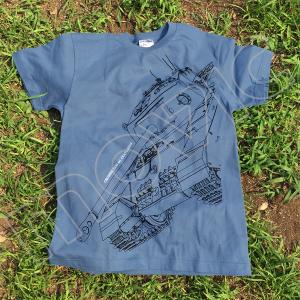 『ガールズ&パンツァー 劇場版』 Tシャツ 大学選抜 センチュリオン XL
