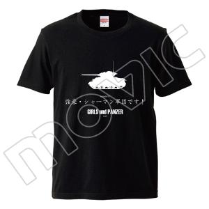 『ガールズ&パンツァー 劇場版』 全話Tシャツ 5話、XL