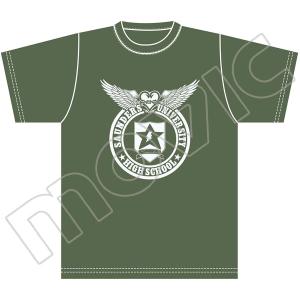 【再販分】『ガールズ&パンツァー 劇場版』 Tシャツ(サンダース大学付属高校 L)