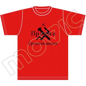 【再販分】『ガールズ&パンツァー 劇場版』 Tシャツ(プラウダ高校 M)