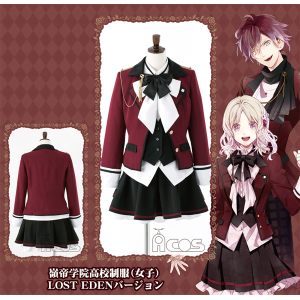 DIABOLIK LOVERS LOST EDEN 嶺帝学院高校制服(女子) LOST EDENバージョン L