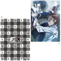 K RETURN OF KINGS クリアファイル B:八田&伏見