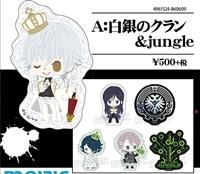 K RETURN OF KINGS ステッカーセット 白銀のクラン&jungle