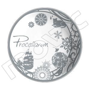 ツキウタ。 アクセサリープレート Procellarum