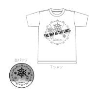ツキウタ。 ツキウサ。用ミニTシャツ&缶バッジ(7月発売) 11月