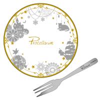 ツキウタ。 おもてなしセット(ケーキ皿&フォーク) B:Procellarum