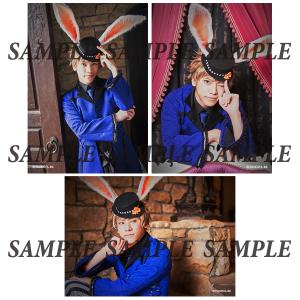 ツキステ。第5幕『Rabbits Kingdom』 ブロマイドセット K神無月郁(笹翼)