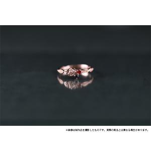 ツキウタ。 リング バラモチーフ 黒兎王国 13号【受注生産】