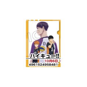 ハイキュー!!烏野高校 VS 白鳥沢学園高校 クリアファイル A