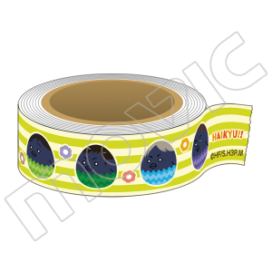 ハイキュー!!烏野高校 VS 白鳥沢学園高校 マスキングテープ ヒナガラスエッグ