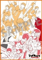 """劇場版総集編 前編 「ハイキュー!! """"終わりと始まり""""」 A4サイズ ハンドタオル付き前売り券"""