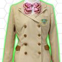 革命機ヴァルヴレイヴ 咲森学園制服(女子)