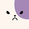 きのこいぬ クリアファイルセット/プラム