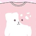 きのこいぬ Tシャツ A