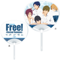 Free! -Eternal Summer- うちわ/白シャツ