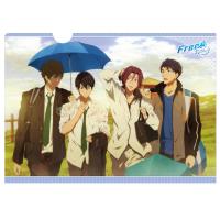 Free! -Eternal Summer- クリアファイル/雨宿り