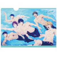 Free! -Eternal Summer-  クリアファイル/水の中