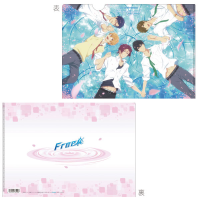 Free! クリアファイル A:桜