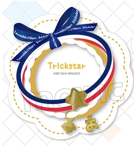あんさんぶるスターズ! 3連ブレスレット Trickstar