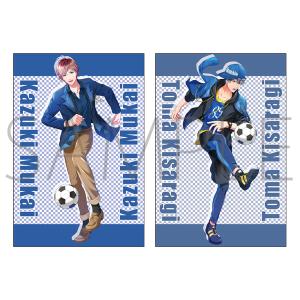 ボーイフレンド(仮)きらめき☆ノート 【ユニゾンVol.3限定】 ポストカードセット 歴代サッカー部