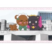ユリ熊嵐 ポストカード/くまB学校