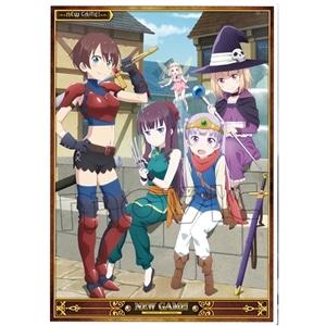 NEW GAME!  ミニクリアポスター RPG