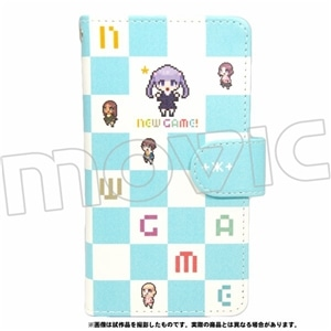 NEW GAME! 手帳型スマホケース