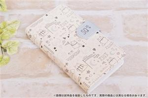SQ 手帳型スマホケース リッズ テキスタイル