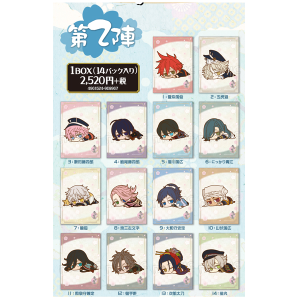 刀剣乱舞 -ONLINE- だる〜んミニクリアファイルコレクション 第二陣
